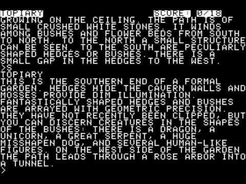 Zork I : The Great Underground Empire Amiga