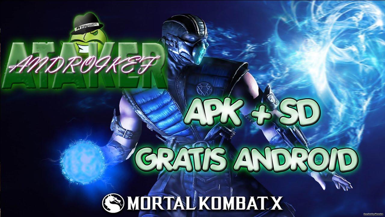 Descargar Mortal Kombat X [APK + SD] [Torrent] GRATIS ANDROID para Celular  #Android