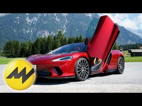 Kofferraum wie ein 5er BMW | Roadtrip im 620PS starken McLaren GT | Motorvision