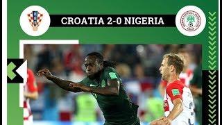 nigeria 0 Croatia 2, full match highlights।