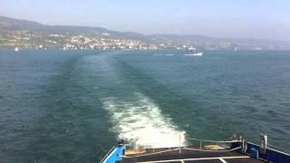 preview picture of video 'Zürichsee-Fähre Horgen-Meilen'