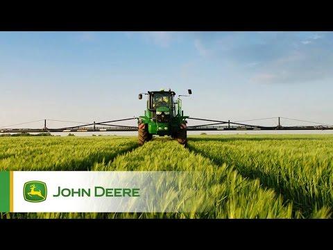 Pulvérisateur John Deere R4050i - Rampes carbone