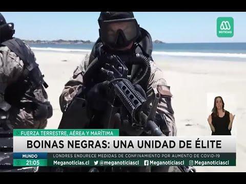 Curso T.A.M, entrenamiento de preparación de los boinas negras del Ejército de Chile