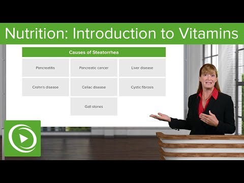 Nutrition: Introduction to Vitamins – Genetics   Lecturio