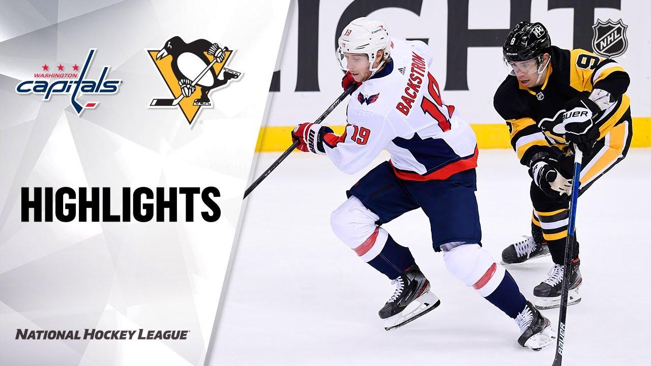 Capitals vs Penguins | Tuesday, January 19, 2021