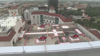 New trauma patient tower, home of Life Flight opens in Texas Medical Center