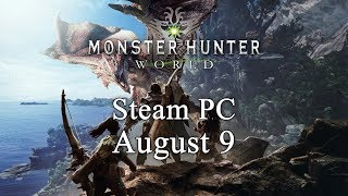 Monster Hunter World STEAM cd-key EU