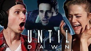 "Scared People Escape A Killer in ""Until Dawn"" • Ch. 2"