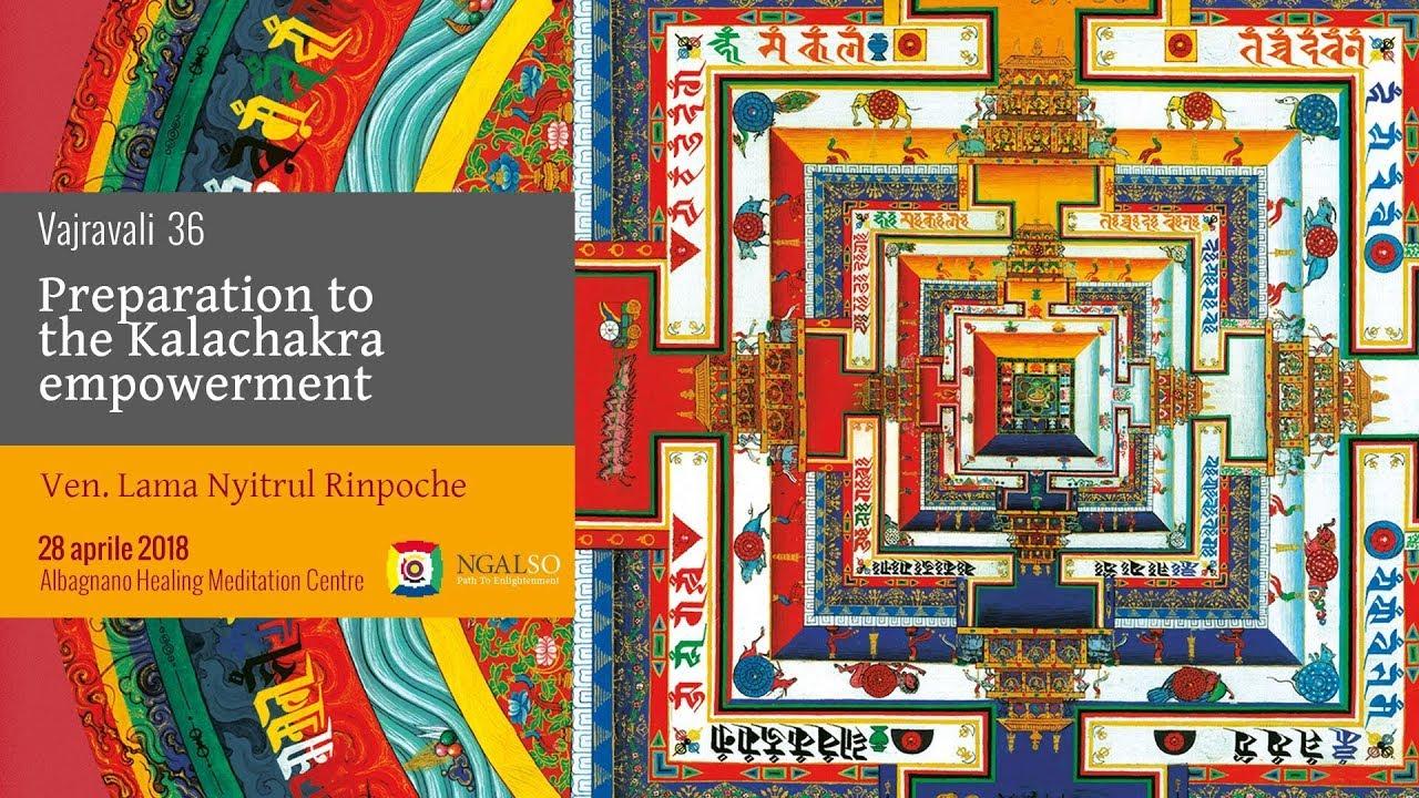 Vajravali 36 - Preparation to the empowerment