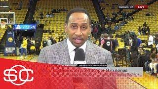 Stephen A.: 'I don't believe for one second that Steph Curry is 100% healthy' | SportsCenter | ESPN - Video Youtube