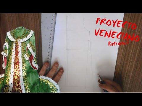 Disfraz Veneciano | Como hacer los patrones
