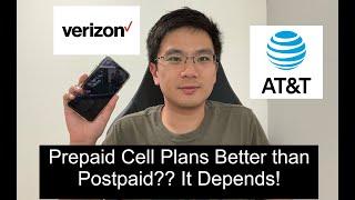 Prepaid Phone Plan Better than Postpaid?
