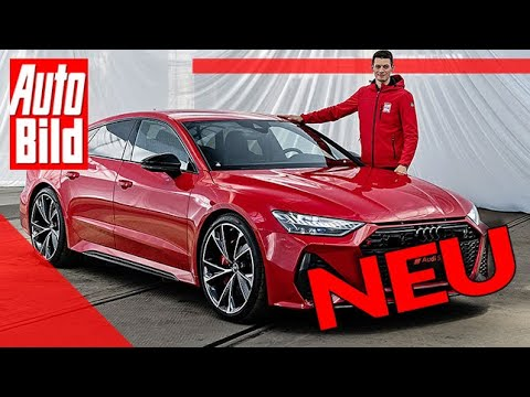 Audi RS 7 Sportback (2020): Auto - Test - Sitzprobe - Motor - C8