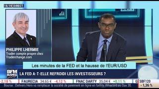 Les minutes de la FED et la hausse de l'EUR/USD