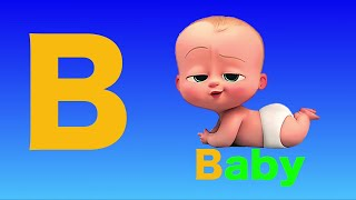 B Is For Baby - Phonic Song For Kindergarten - Learn Alphabets And Letter Sounds