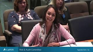 Risk & Audit Committee on September 25, 2018