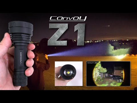Convoy Z1 - 2000 lumens zoomable 21700 flashlight