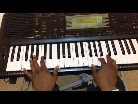 You are worthy oh Lord (African worship) - Piano tutorial in Key F. Part 1