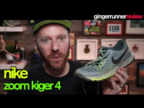 NIKE ZOOM KIGER 4 REVIEW | The Ginger Runner