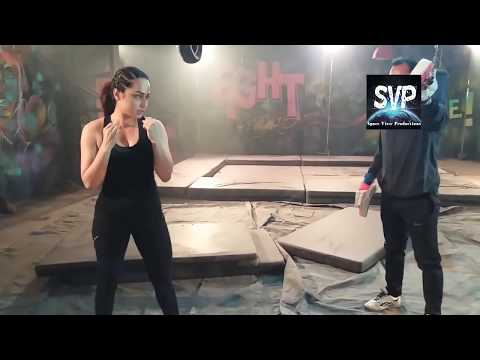 CID Officer PURVI is Boxing............................