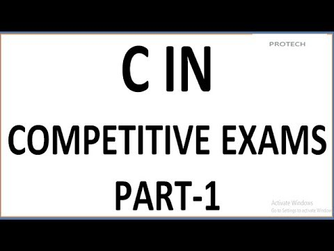 C PROGRAMMING IN COMPETITIVE EXAMS (PART-1) - YouTube