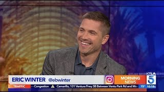 "Eric Winter on his New Show ""The Rookie"""