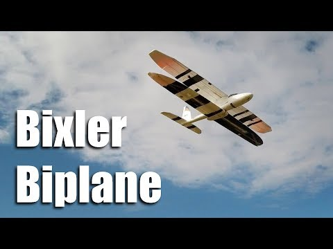 bixler-biplane