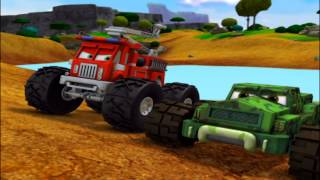 "Bigfoot Presents: Meteor and the Mighty Monster Trucks - Episode 09 - ""The Truck Who Cried Tow"""