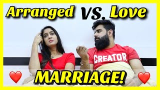 Arranged Marriage VS. Love Marriage | Rickshawali | feat. Rishabh Rishhsome
