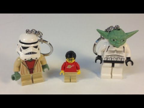 LEGO Star Wars Yoda and Stormtrooper LED Key Light