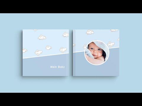 """Inspiration für das Fotobuchcover – """"Mein Baby"""""""