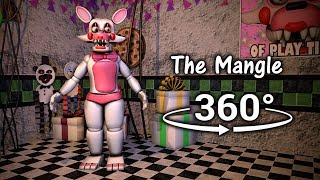 360°| The Mangle Test Show - Five Nights at Freddy