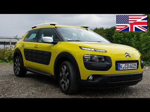 2014 Citroen C4 Cactus Start Up, Exhaust, Test Drive, and In-Depth Car Review (English)