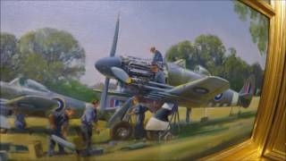 Royal Air Force Officers Club In London May 2017 Aviation Art Collection