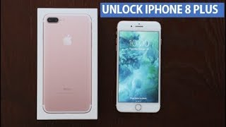 How to Unlock iPhone 8 Plus for Any Carrier & Any Country
