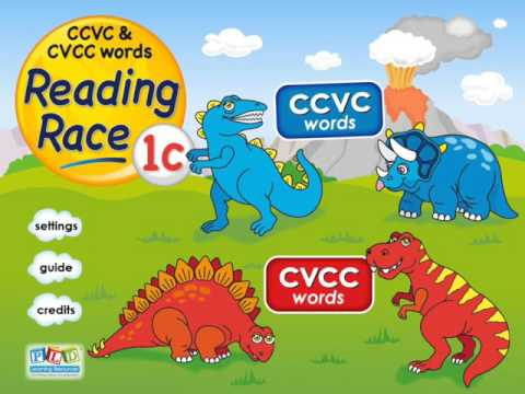 Reading race 1c - ccvc and cvcc words