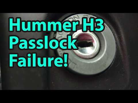 Hummer H3 Passlock Fix? Free and Easy!