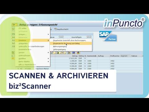 inPuncto Scanner-Software für SAP