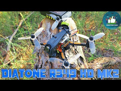 ✔ FPV Квадрокоптер - Diatone 2019 GT R349 HD MK2 Edition! Под 4 Банки!