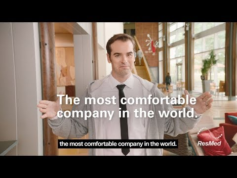 Image of ResMed - The most comfortable company in the world! video