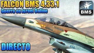 [FalconBMS]Guerra en Israel Online - En directo