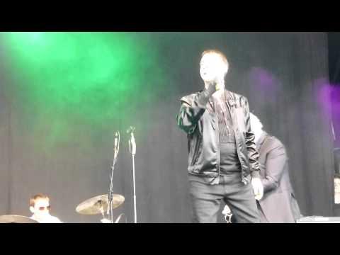 "Marc Almond ""The Dancing Marquis"" Newark Festival June 21st 2014"
