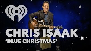 "Chris Isaak - ""Blue Christmas"" (Elvis Presley Acoustic Cover) 