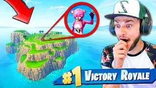 SPAWN ISLAND *ONLY* CHALLENGE in Fortnite: Battle Royale!