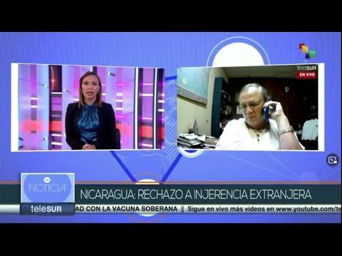 NICARAGUA: RECHAZO A INJERENCIA EXTRANJERA