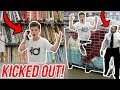 TRYING TO GET KICKED OUT OF WALMART! *INTERCOM PRANK*