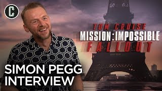 Simon Pegg Talks Mission: Impossible – Fallout and Plays Ice Breakers