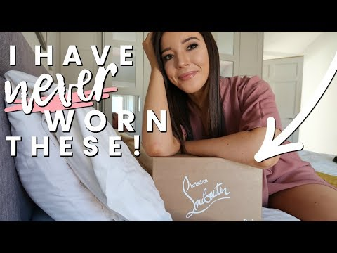 THE DESIGNER SHOES I HAVN'T WORN | LOUBOUTIN UNBOXING - Grace Denny Vlogs Mp3