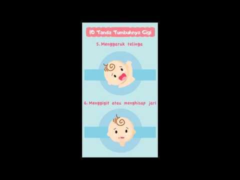 Video 10 Tanda Tumbuh Gigi si Kecil