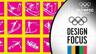 Olympic Games Pictograms   Design Focus